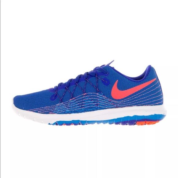 brand new a7643 1a5d1 Nike Women s Flex Fury 2 Bright Blue Running Shoe.  M 5b0acd763b1608e574732cff